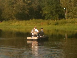 Fishing on the well stocked Newman Lake