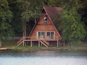 A-Frame lakeside